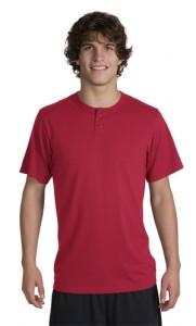 Sport-Tek® T210 Short Sleeve Henley