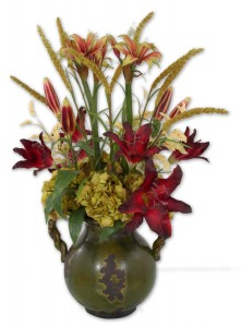 Uttermost 60084 Daylilies In Tuscan Urn