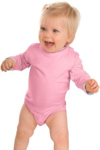 Precious Cargo® CAR22 Infant Long Sleeve 1-Piece with Shoulder Snaps