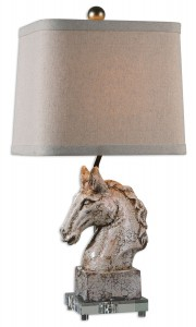 Uttermost 26482-1 Rathin Horse Lamp