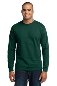 Port & Company Tall Long Sleeve 50/50 Cotton/Poly T-Shirt.