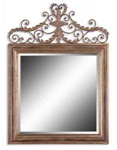 Uttermost 12631 B Valonia Antique Gold Mirror