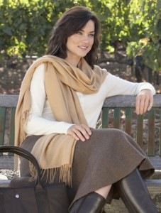 Red House RH29 Ladies Pure Cashmere Pashmina