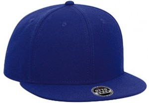 Youth wool blend flat visor snapback solid color six panel pro style caps