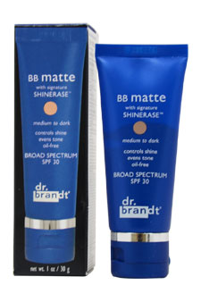Dr.Brandt BB Matte With Signature Shinerase SPF 30 -Medium To Dark Cre