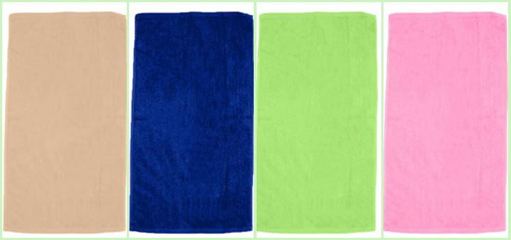 Q-Tees of California Velour Beach Towel from nyfifth.com