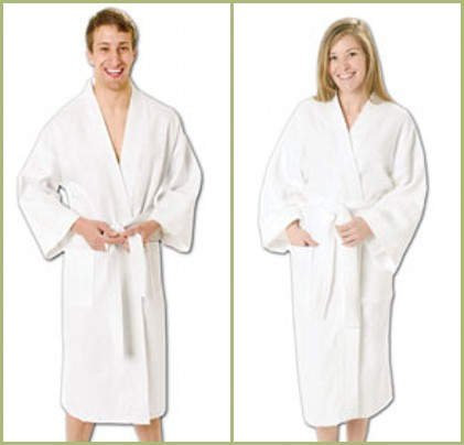 """Q-Tees of California - QBR80 48"""" Terry Loop Bath Robe from nyfifth.com"""