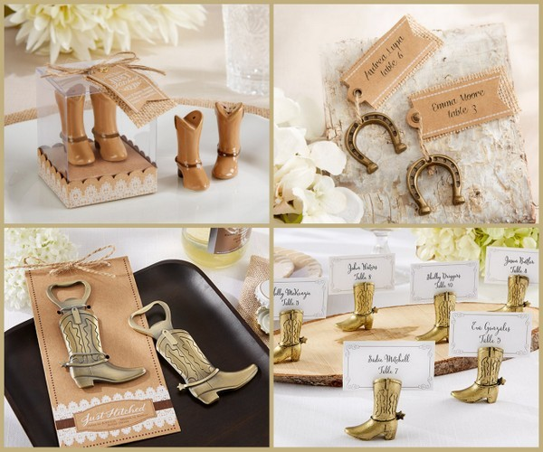 Country Chic Theme Wedding Favors From HotRef