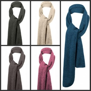 Port Authority-heathered-knit-scarf