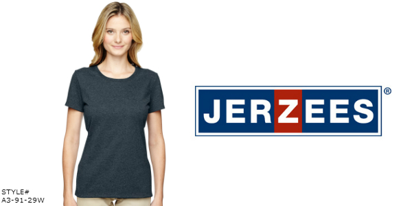 Jerzees Women T-Shirts from NYFifth.com