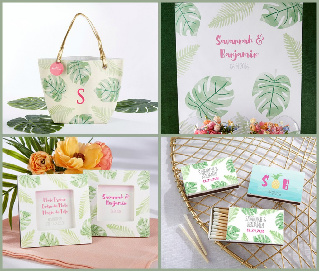 Tropical Wedding & Party Favors from HotRef.com