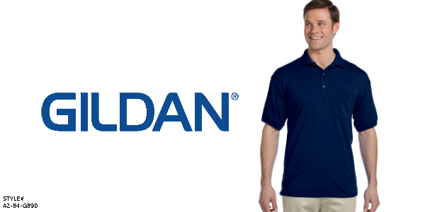Gildan Men's Polo from NYFifth