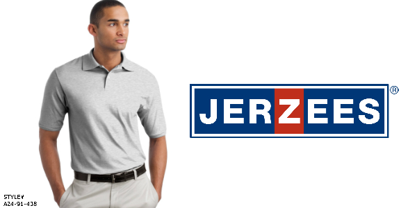 Jerzees Men's Polo from NYFifth