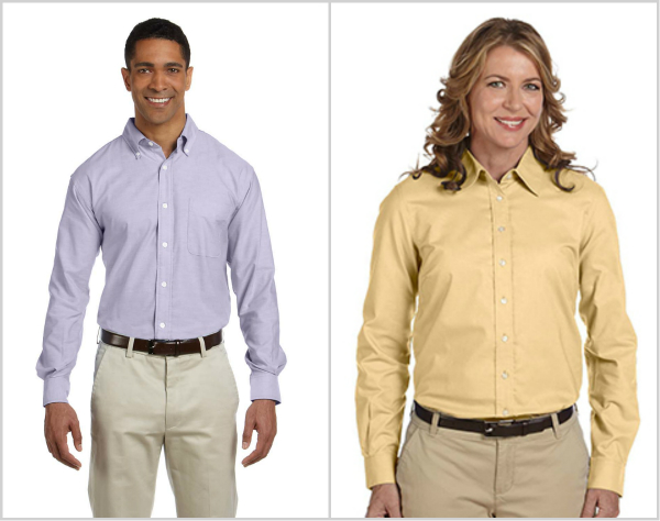 Chestnut Hill Oxford Shirt from NYFifth