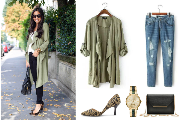 Fall Essentials - Lightweight Trench Coat from NYFifth