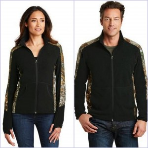 Port Authority Camouflage Microfleece Full-zip Jacket from NYFifth