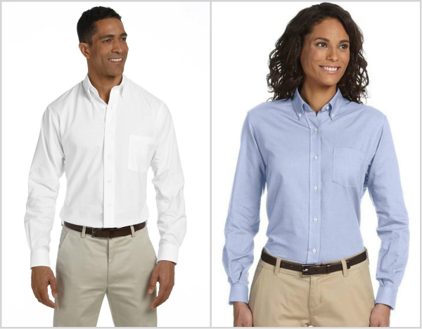 Van Heusen Classic Long Sleeve Oxford from NYFifth