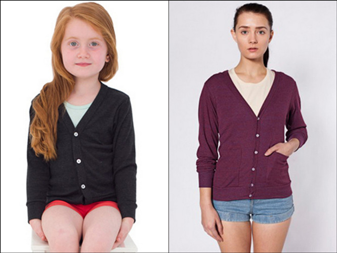 American Apparel Cardigans for Fall from NYFifth