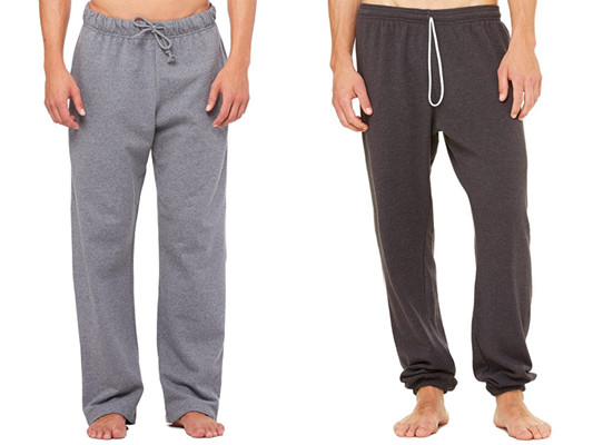 Bella Canvas Mens Fleece Pants from NYFifth