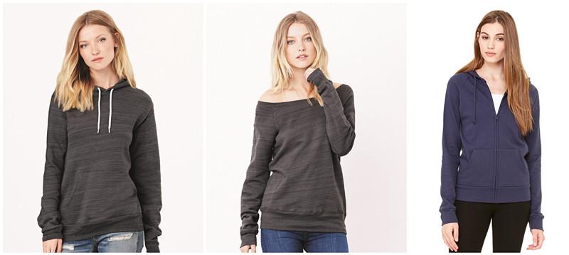Bella Canvas Womens Fashion Sweatshirt from NYFifth