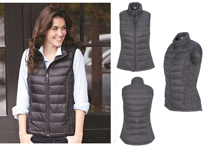 Weatherproof Degrees Ladies Packable Down Vest from NYFifth