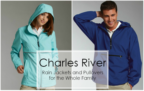 Charles River Rain Jacket and Pullover from NYFifth