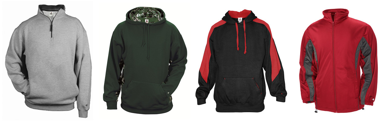 New Badger Sport Outerwear from NYFifth