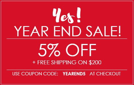 Year End Sale from NYFifth