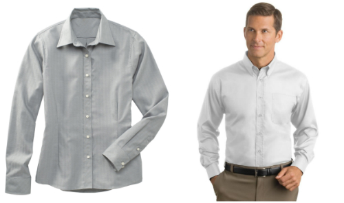 Popular Herringbone Dress Shirts from NYFifth