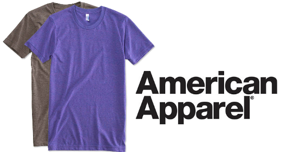 American Apparel TShirts from NYFifth