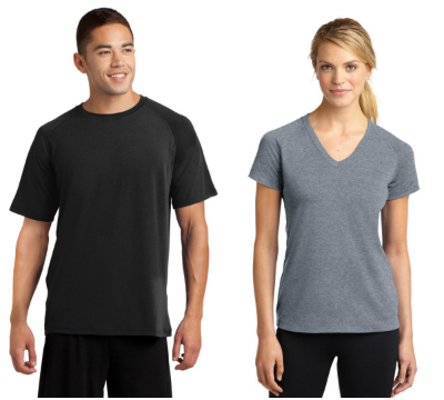 Sport Tek Ultimate Performance Tees from NYFifth