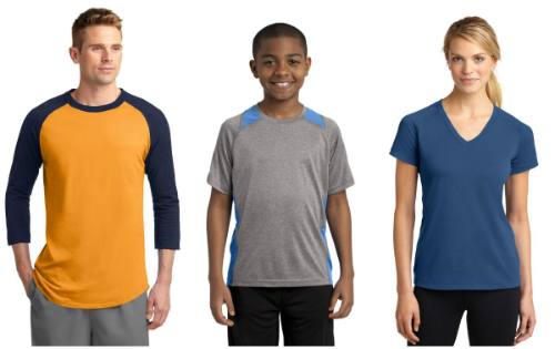 Spring Training: Sport Tek T-Shirts from NYFifth