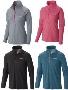 Columbia Mens Womens Trail Summit Half Zip Pullover from NYFifth