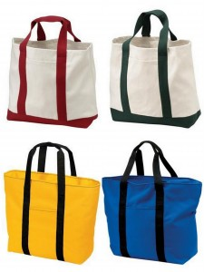 Port Authority Two Tone Shopping Tote All Purpose Tote from NYFifth