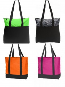 Port Authority Zip Top Convention Tote Day Tote from NYfifth
