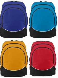 Augusta Large Tri Color Backpack from NYFifth