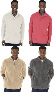 Charles River Mens Falmouth Pullover Newport Fleece Pullover from NYFifth