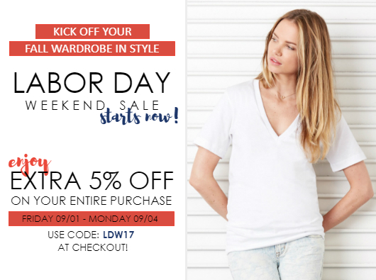 Labor Day 2017 Sale Starts Today from NYFifth