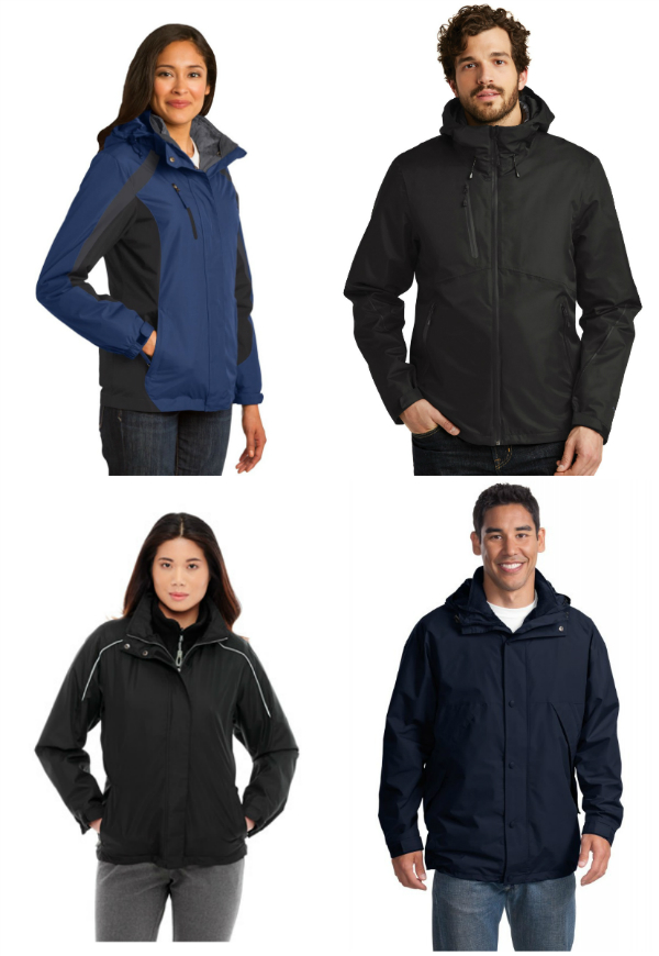 3-in-1 System Jackets from NYFifth