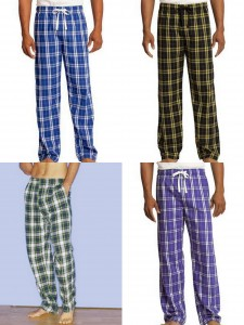 District Young Mens Flannel Plaid Pant Robinson Apparel Flannel Pants with Pockets from NYFifth