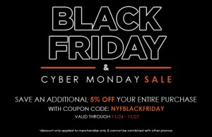 NYFifth Black Friday 2017 Coupon Code