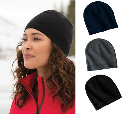 Port Authority CP95 100% Cotton Beanie from NYFifth