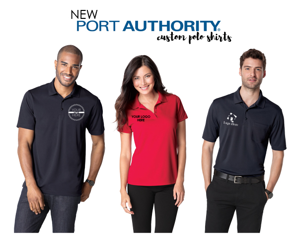 New Port Authority Polo Shirts from NYFifth