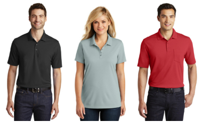 Port Authority Dry Zone UV Micro-Mesh Polo Shirts from NYFifth