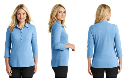 Port Authority Ladies Coastal Blend Polo from NYFifth