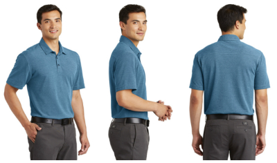 Port Authority Men's Coastal Blend Polo from NYFifth