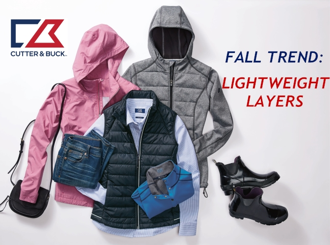 New Cutter and Buck Lightweight Layers for Fall from NYFifth
