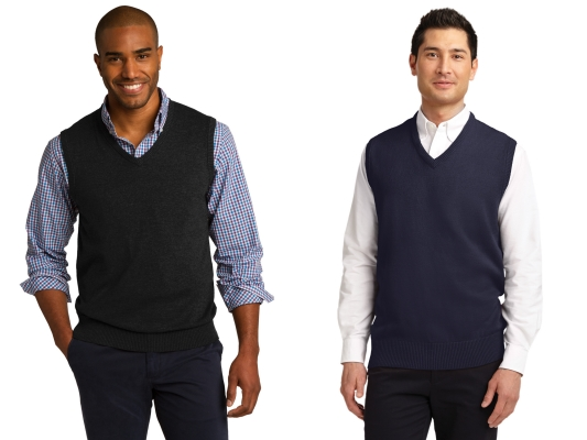 Port Authority Sweater Vest from NYFifth