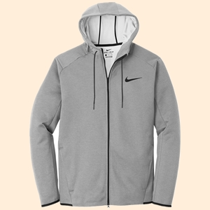 Nike Golf NKAH6268 Nike Therma FIT Textured Fleece Full Zip Hoodie from NYFifth