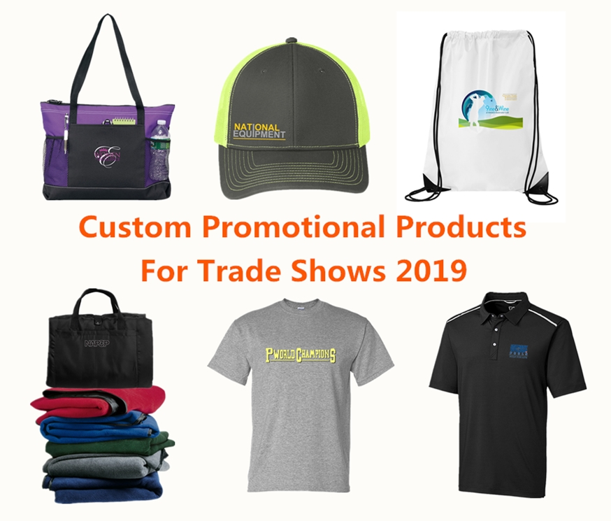 Top 6 Custom Promotional Products for Trade Shows 2019 from NYFifth